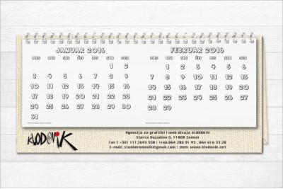 Kalendar MILORAD
